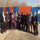 کلنگ زنی هتل آکادمی فدراسیون کشتی جمهوری اسلامی ایران